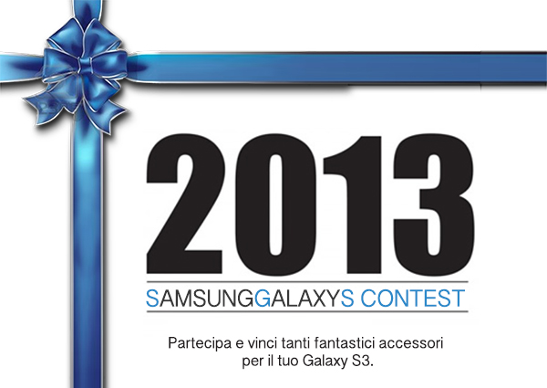 Contest 2013: Tanti accessori in regalo per il tuo Galaxy!
