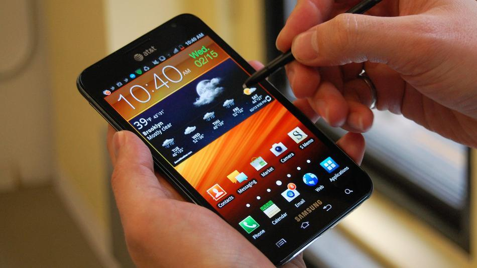 Samsung Galaxy Note sta per ricevere Android 4.1.2!