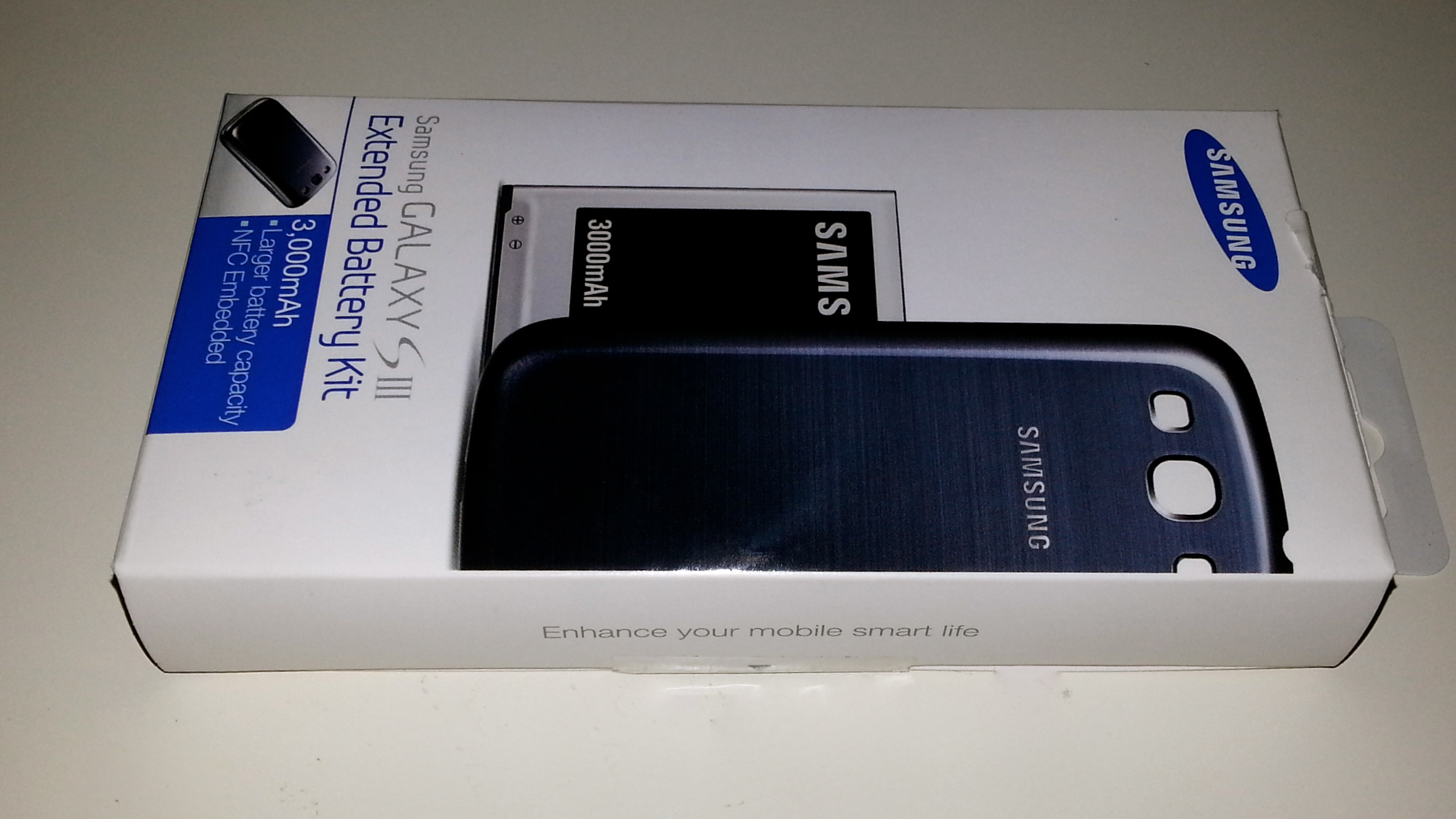 Kit batteria 3000 mah originale per Samsung Galaxy S3