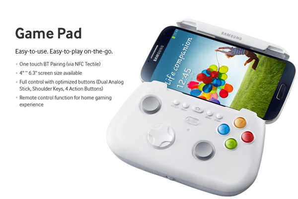 Game Pad per Samsung Galaxy S4 disponibile in preordine