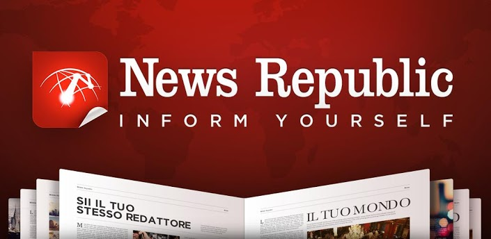News Republic: app per le News gratis, per Android