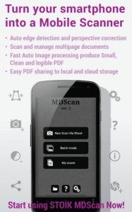 Scansionare un documento su Android Mobile Doc Scanner