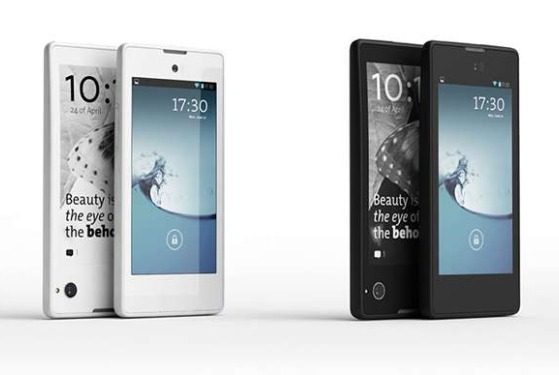 YotaPhone smartphone Android double face Russia