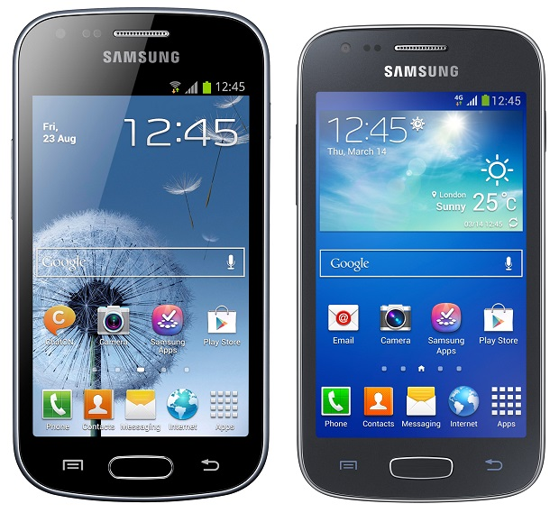 Recensione: Galaxy Ace 3 LTE vs. Galaxy Trend Plus‏