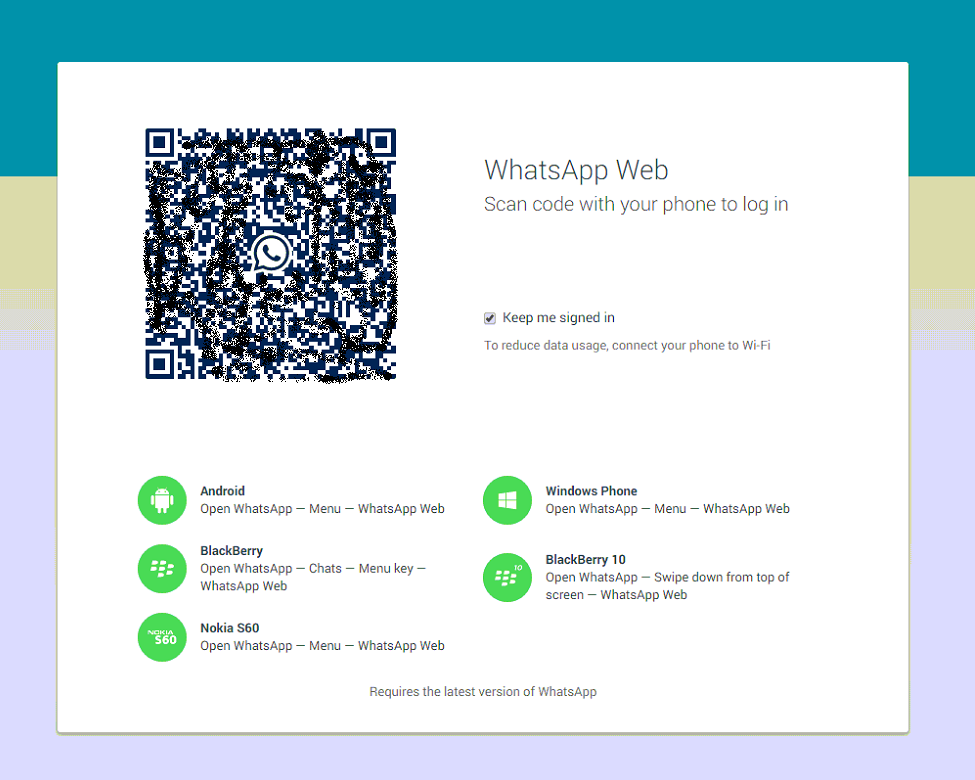 Whatsapp si aggiorna e implementa Whatsapp Web!