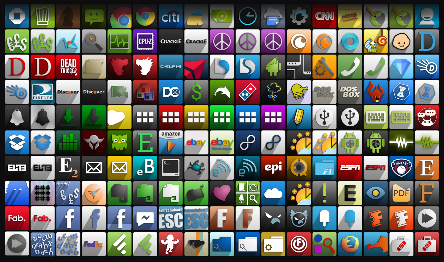 Android Apps Collage