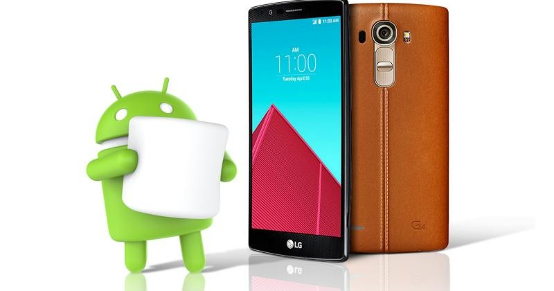 Disponibile Android 6.0 per LG G4 in Europa