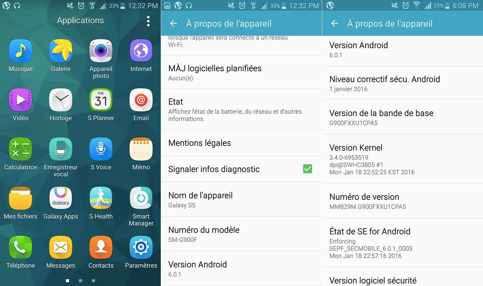 Due Samsung Galaxy S5 europei hanno ricevuto Android 6.0 Marshmallow