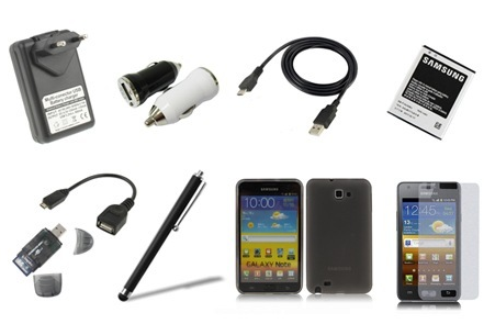 Kit Samsung Galaxy SIII, SII, S e Note su Groupon a 19,99€!