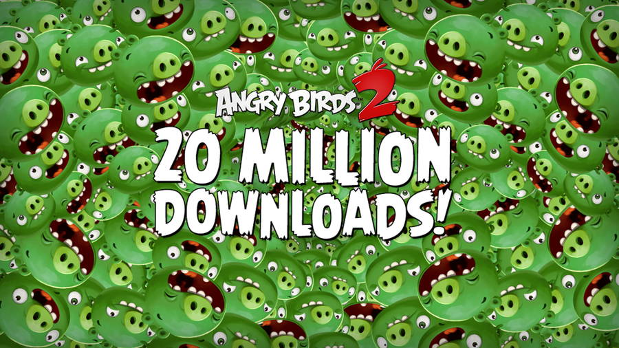 Angry Birds 2 supera i 20 milioni di download in una settimana